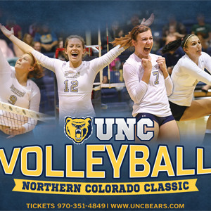 University of Northern Colorado Women's Volleyball